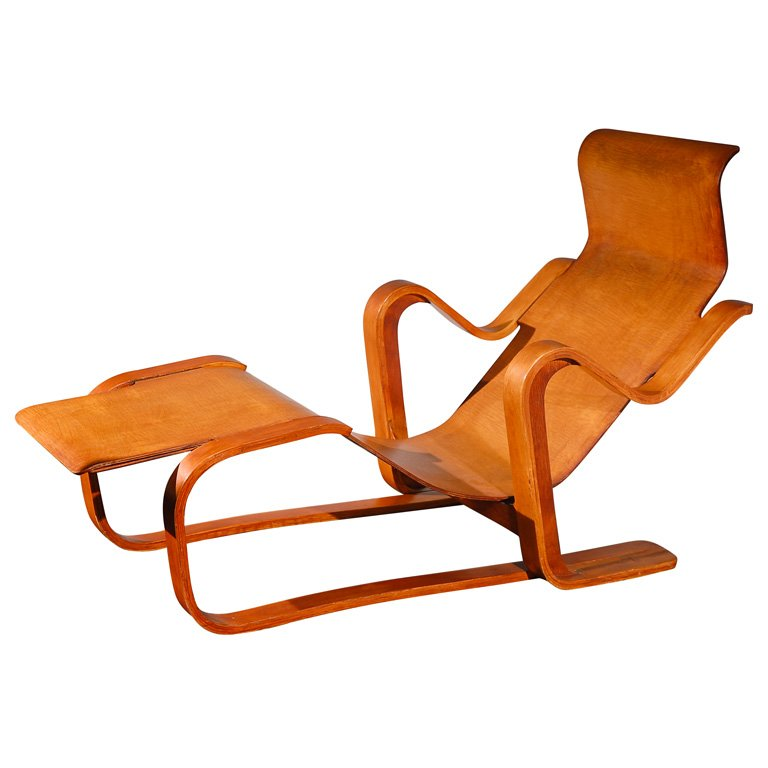 Isokon long chair designophy designpedia www for Breuer chaise lounge