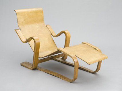 Isokon long chair photo album designophy www for Breuer chaise lounge