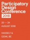 The 16th biennial Participatory Design Conference (PDC)