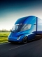 The Tesla Semi truck was unveiled by Tesla CEO Elon Musk